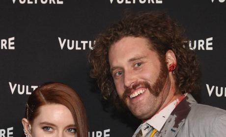 T.J. Miller is Partying