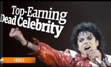 Michael Jackson: Highest-Earning Dead Celebrity of 2013!