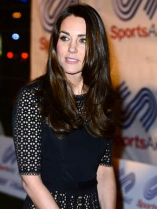 Kate Middleton With Dark Hair Do You Like Her New Color