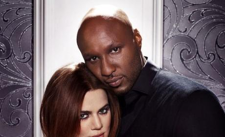 Khloe & Lamar Photo