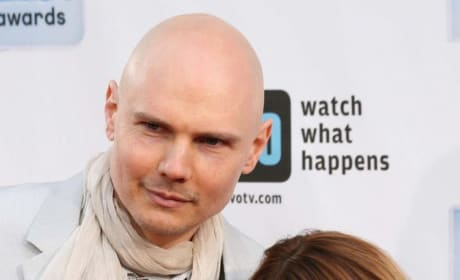 Tila Tequila and Billy Corgan