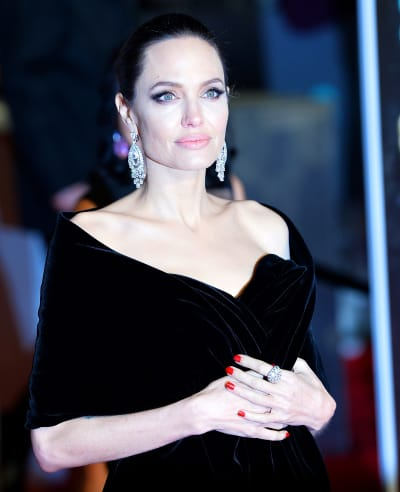 Angelina Jolie looks amazing