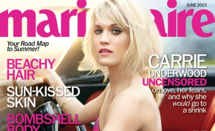 Carrie Underwood Marie Claire Cover: Released! Beautiful!
