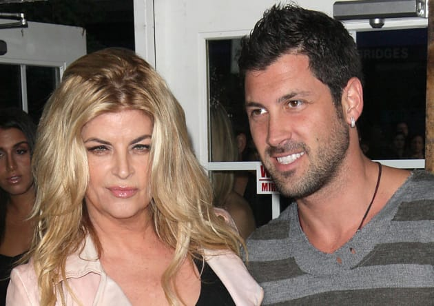 Kirstie Alley and Maksim Chmerkovskiy