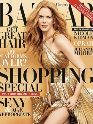 Nicole Kidman Harper's Bazaar Cover