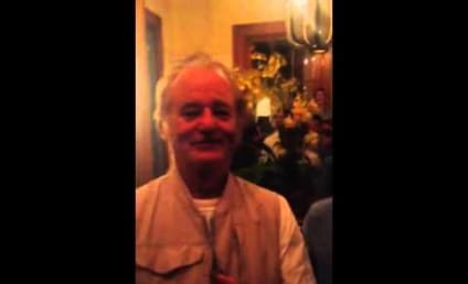 Bill Murray Crashes Bachelor Party, Offers Advice to Single Men