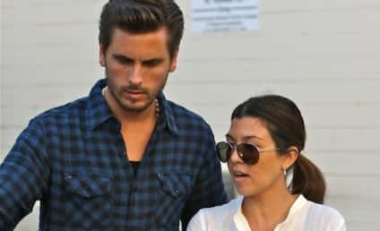 Scott Disick to Kourtney Kardashian Weight Critics: Fat Asses!