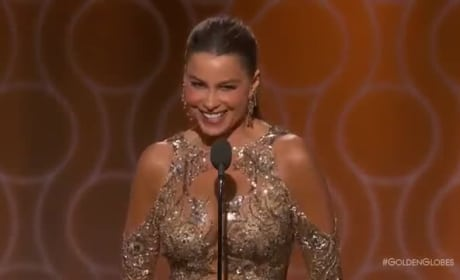 "Sofia Vergara Jokes About ""Anal"" Tradition of the Golden Globes"