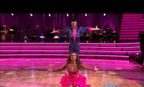 Leah Remini: Dancing With the Stars Week 2