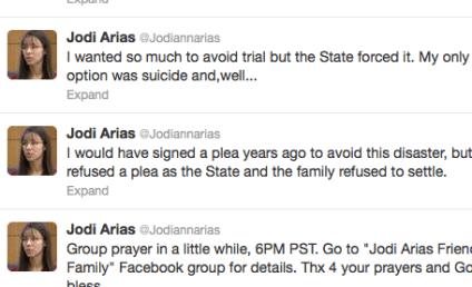 Jodi Arias: Contemplating Suicide, Slamming Nancy Grace on Twitter as Jury Deliberates