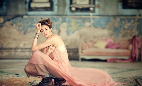 Shailene Woodley in Teen Vogue