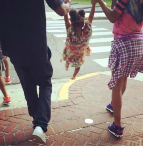 Beyonce, Jay Z and Blue Ivy Carter