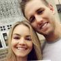 Nikki Ferrell & Tyler Vanloo With Their Marriage License