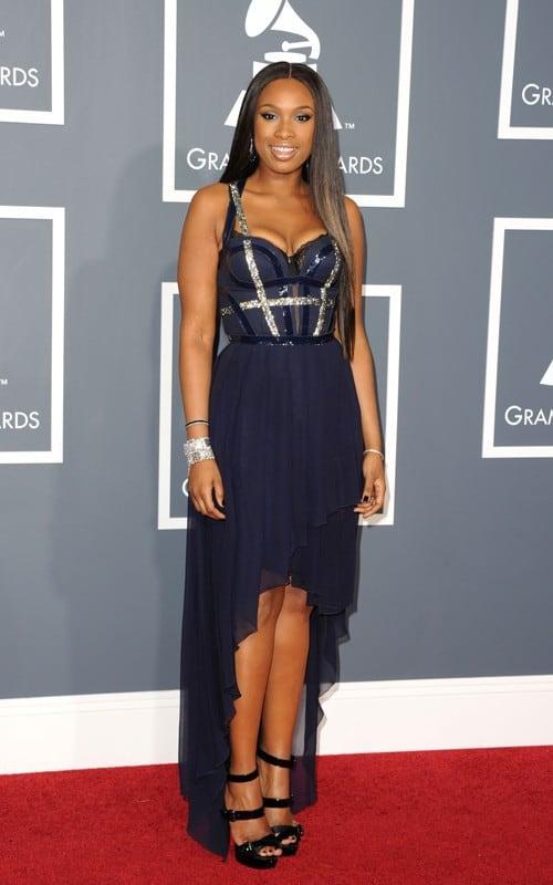 Jennifer Hudson at the Grammys