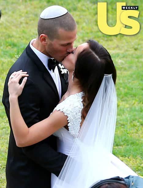 Ashley Hebert Wedding Photo