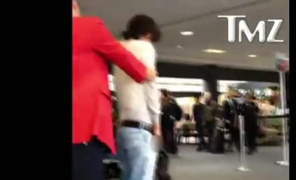 VIDEO: Bronson Pelletier Urinates in Airport!