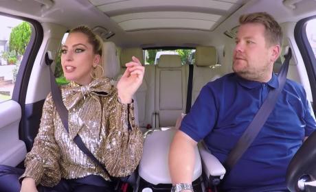 Lady Gaga Carpool Karaoke Photo