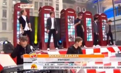 One Direction Breaks Today Show Record, Announces 3D Movie