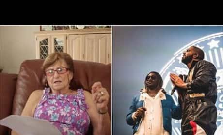 Grandma is Very Confused Over Drake and Future Lyrics