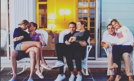 Taylor Swift Tom Hiddleston Ryan Reynolds Blake Lively Fourth of July Pic