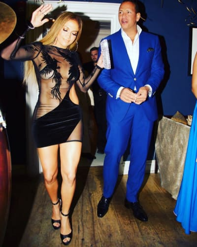 J Lo and A-Rod for Her Birthday