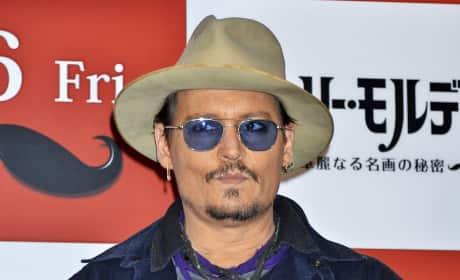 Johnny Depp in Tokyo
