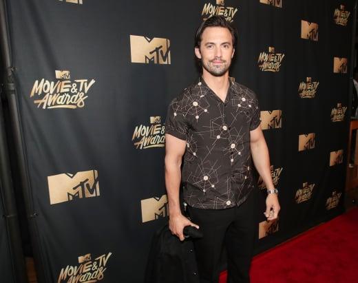 Milo Ventimiglia at 2017 MTV Awards