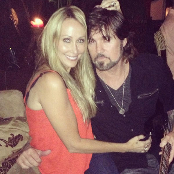 Billy Ray Cyrus and Tish Cyrus Photo