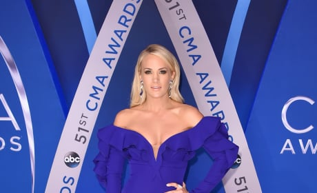 Carrie Underwood at CMAs