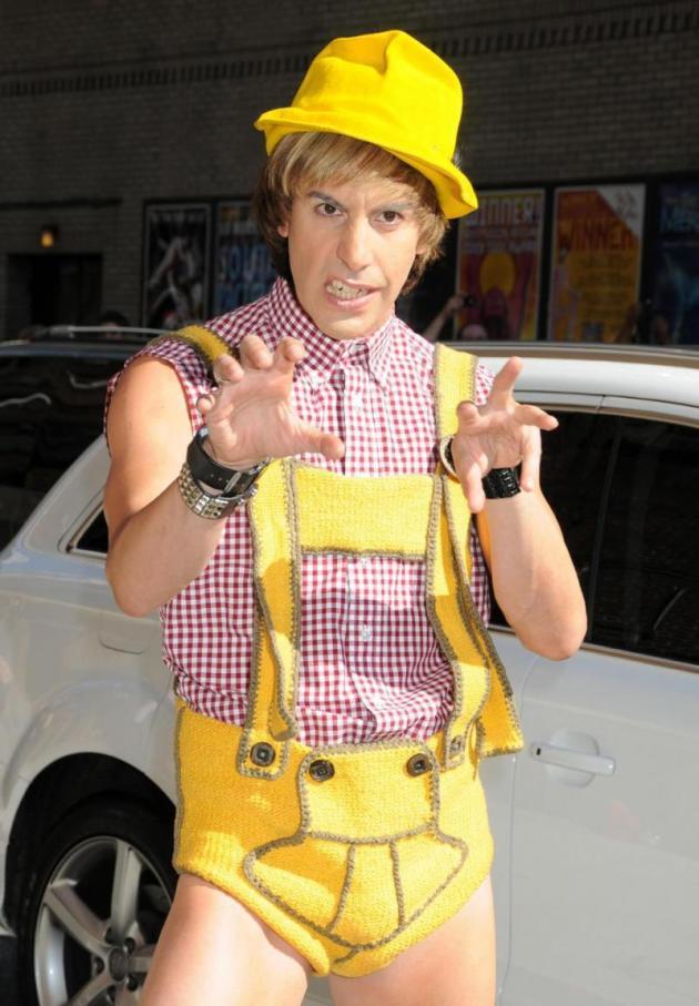 Yellow Suspenders