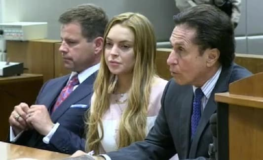 Lindsay Lohan Back in the Courtroom