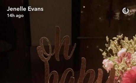 Jenelle Evans Baby Shower Cake