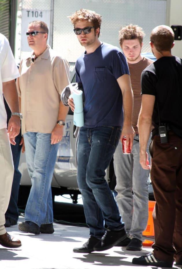 Pattinson in NYC