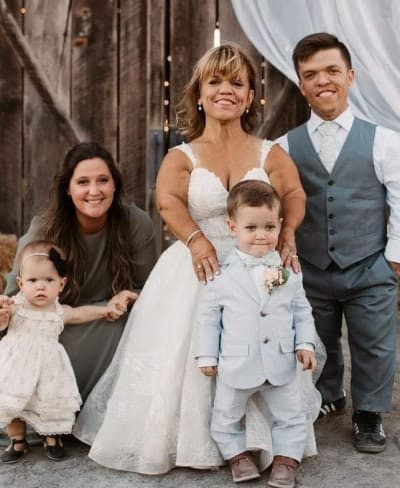 Bruid en haar familie