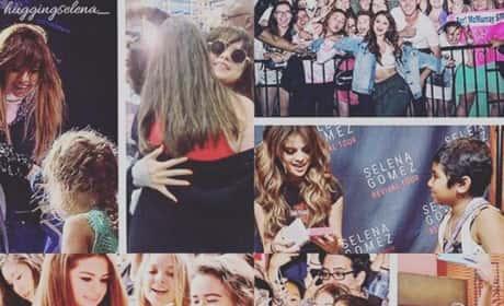 Selena Gomez Fan Collage