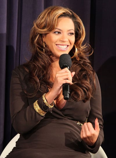 Pregnant Beyonce Pic