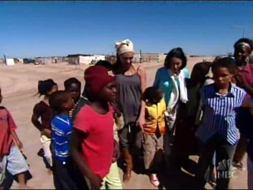 Brangelina in Africa