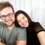 Amy Duggar with Husband