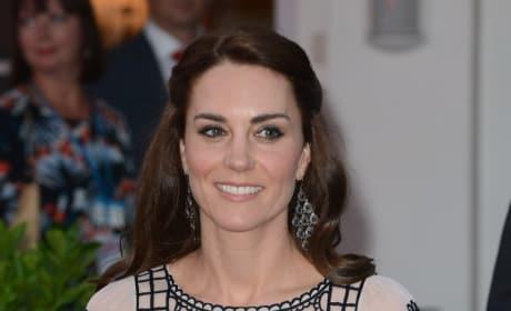 Kate Middleton in Temperley London: Queen Elizabeth's 90th Birthday Celebration in India
