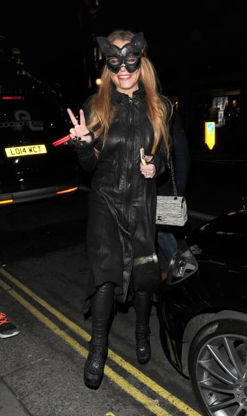 Lindsay Lohan Rocks Fake Engagement Ring At Halloween