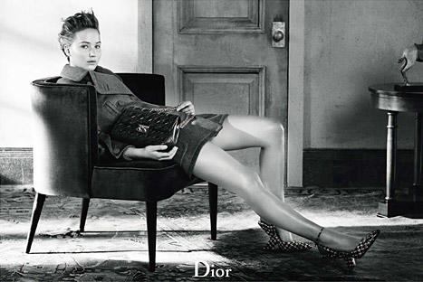 Jennifer Lawrence For Dior Photo