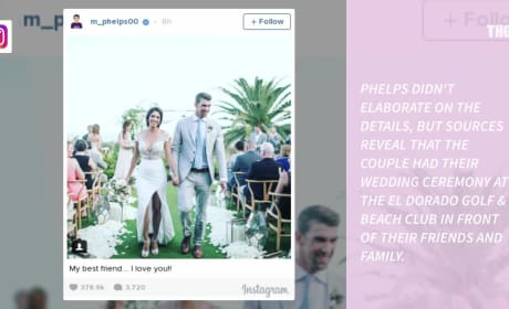 Michael Phelps and Nicole Johnson: Wedding Photos!