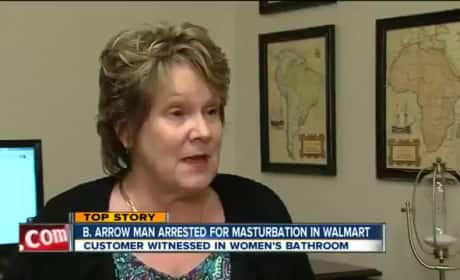 Masturbating Walmart Man: Caught on Camera!