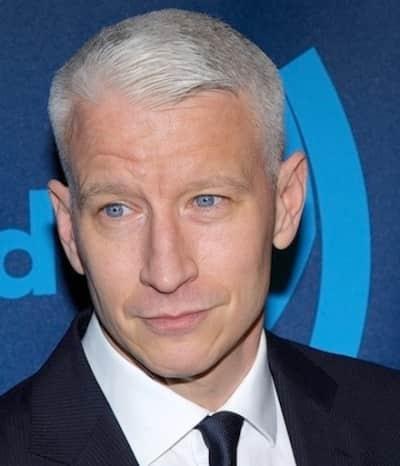 Anderson Cooper, Blue Eyes