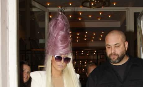Lady Gaga in Denmark