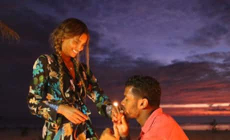 Russell Wilson Proposes!