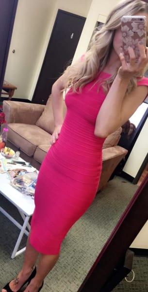 Leah Messer Dress Photo