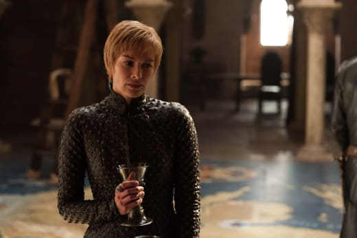 Cersei Looks Stressed