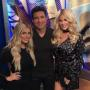 Kim Zolciak with Brielle Biermann and Mario Lopez