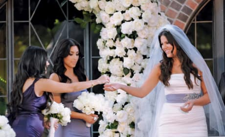 Kourtney, Khloe and Kim Kardashian Picture